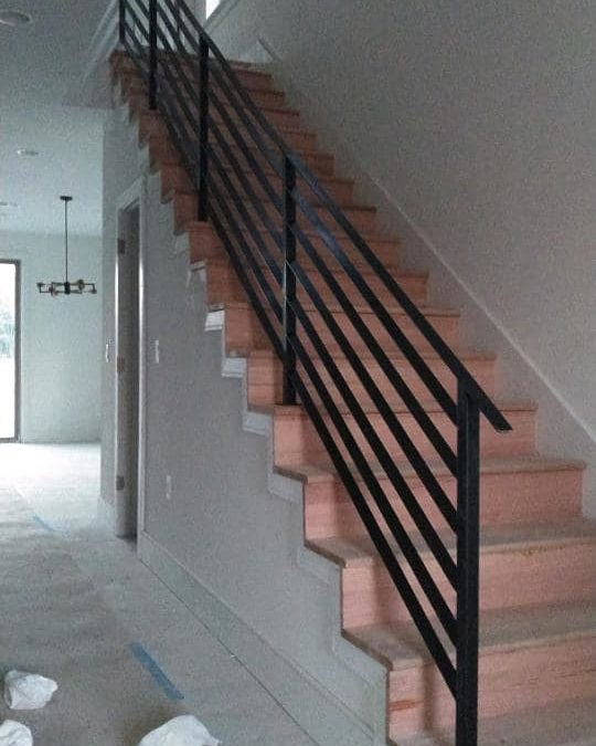 Railings in Round Rock Townhomes
