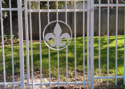 Handcrafted Residential Fence